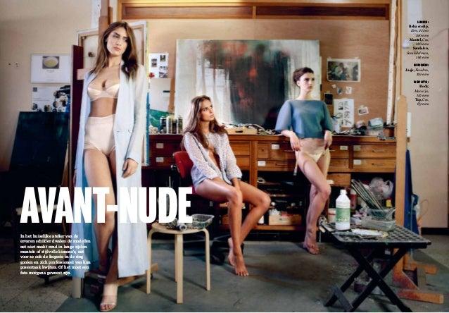 lingerie modellen naakt