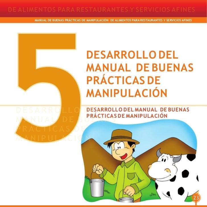 21658943 manual de buenas practicas de manipulacion de for Buenas practicas de manipulacion de alimentos