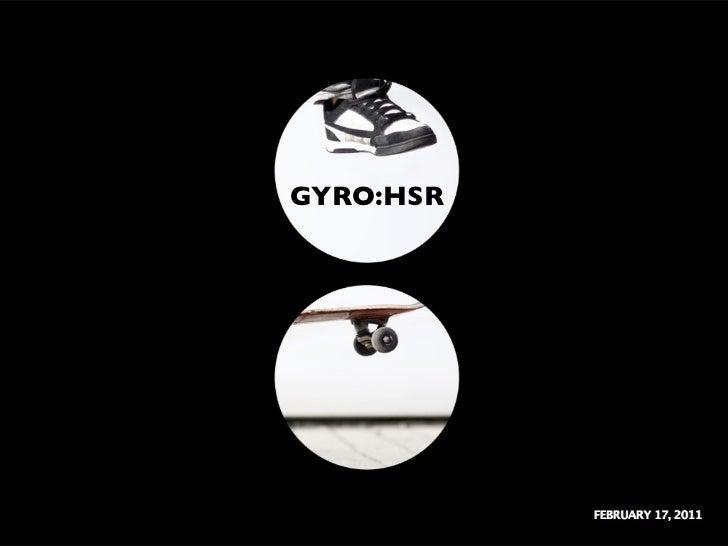 GYRO:HSR