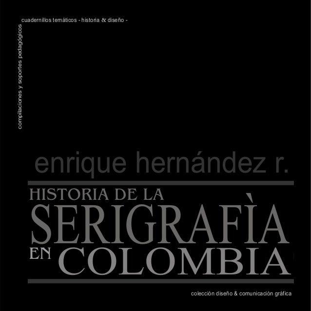 colección diseño & comunicación gráfica cuadernillos temáticos - historia & diseño -compilacionesysoportespedagógicos enri...