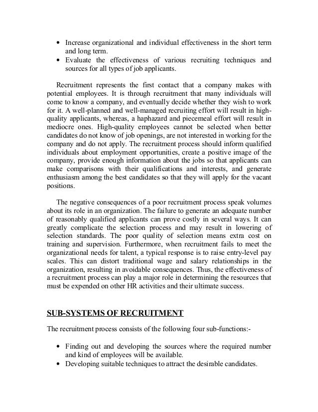 a report on recruitment and selection process for the recruiting The university strives to promote best practice recruitment and selection  processes to ensure we secure the best candidates  when recruiting staff it is  important not to discriminate on any unfair or unlawful grounds eg sex,  best  interests of the university, subject to a report being submitted to the next meeting  of court.