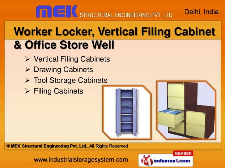 ... Storage Racking; 8. Worker Locker, Vertical Filing ...