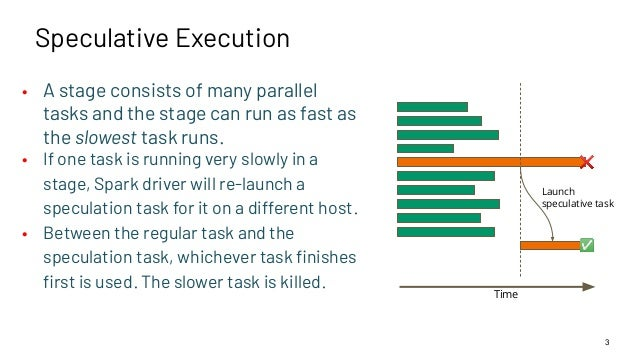 Best Practices for Enabling Speculative Execution on Large Scale Platforms Slide 3