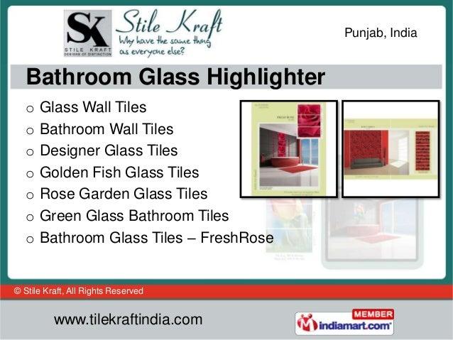 Kitchen Glass Tiles By Stile Kraft Ludhiana