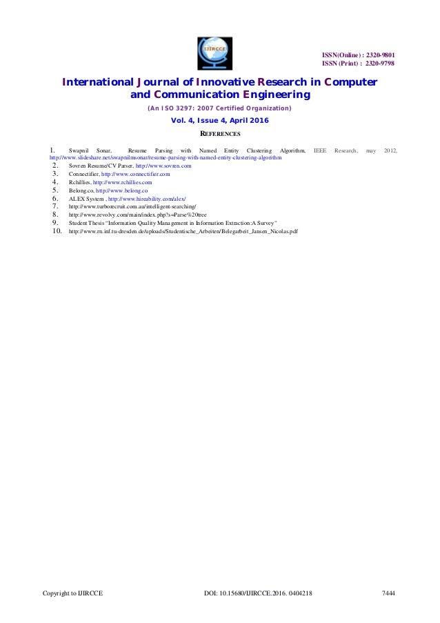 free resume parser software resume parser web service contegri