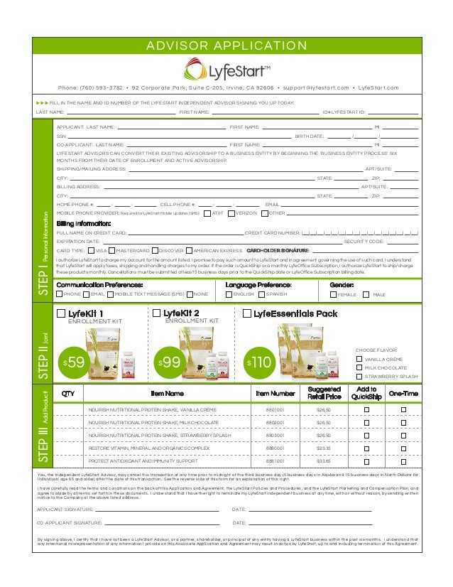 LyfeKit 1 ENROLLMENT KIT LyfeKit 2 ENROLLMENT KIT LyfeEssentials Pack STEPIIJoin! NOURISH NUTRITIONAL PROTEIN SHAKE, VANIL...