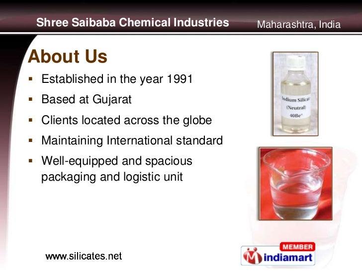 Soluble Sodium Silicates by Shree Saibaba Chemical Industries, Mumbai Slide 2