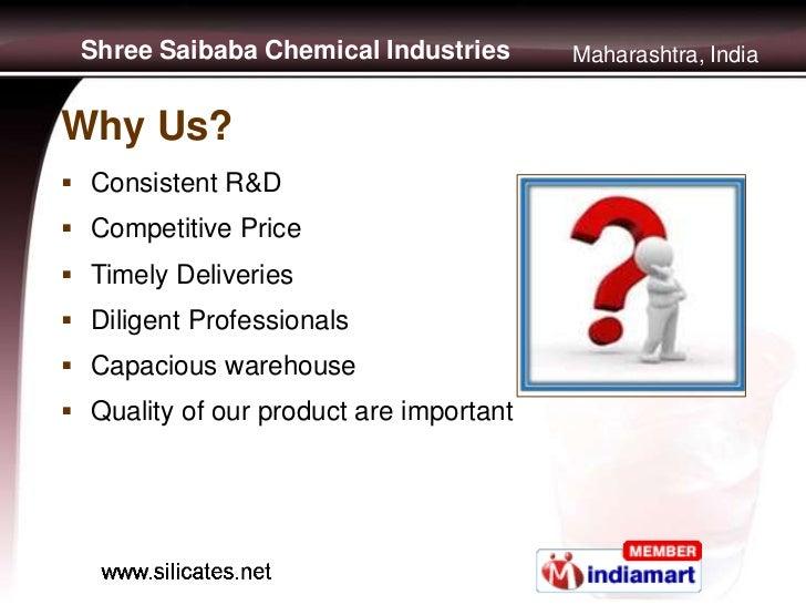 Soluble Sodium Silicates by Shree Saibaba Chemical Industries, Mumbai Slide 3