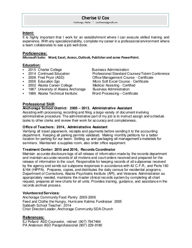 Stunning Alaska Accounting Resume Pictures - Best Resume Examples ...