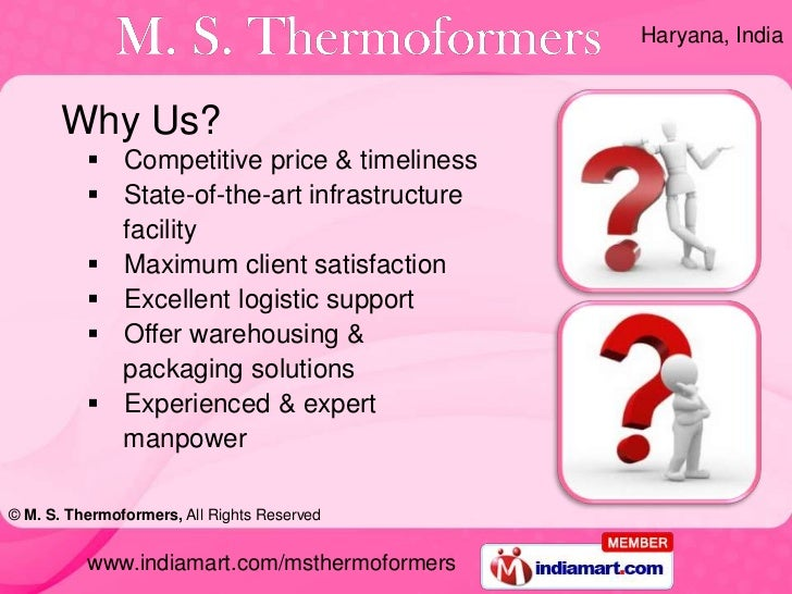 Thermoforming Products by M. S. Thermoformers Gurgaon Slide 3