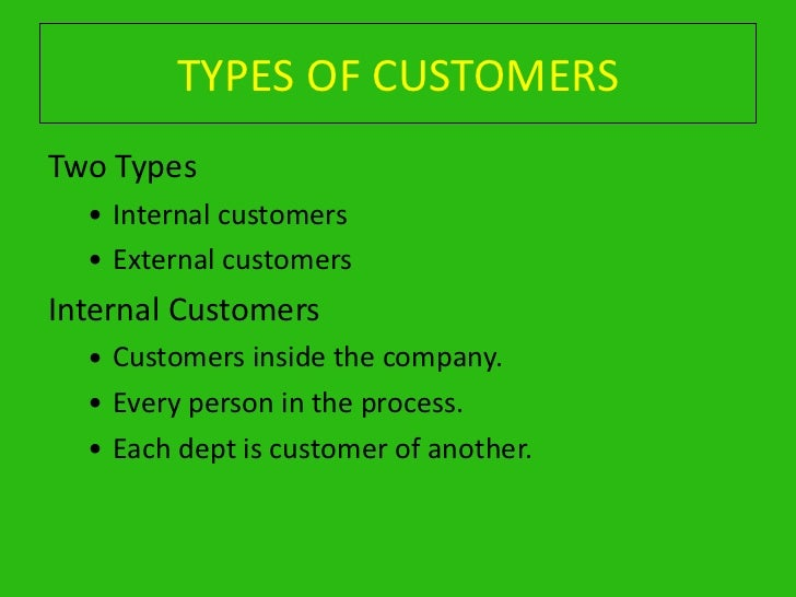 What Is an External Customer?