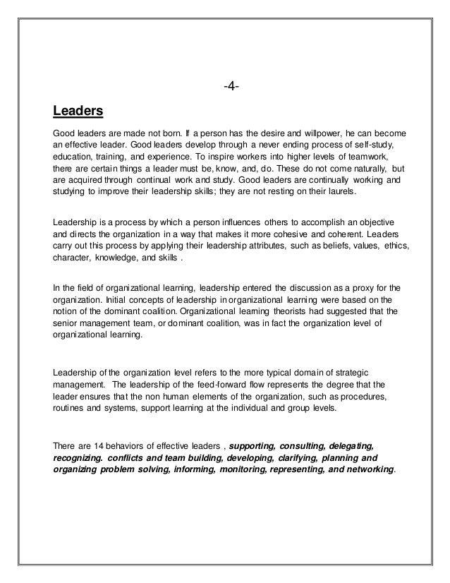 Dissertation in leadership senior service project essay