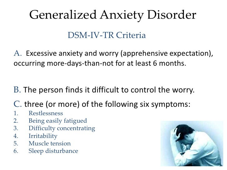 Neuropharmacology: Anxiety Disorders