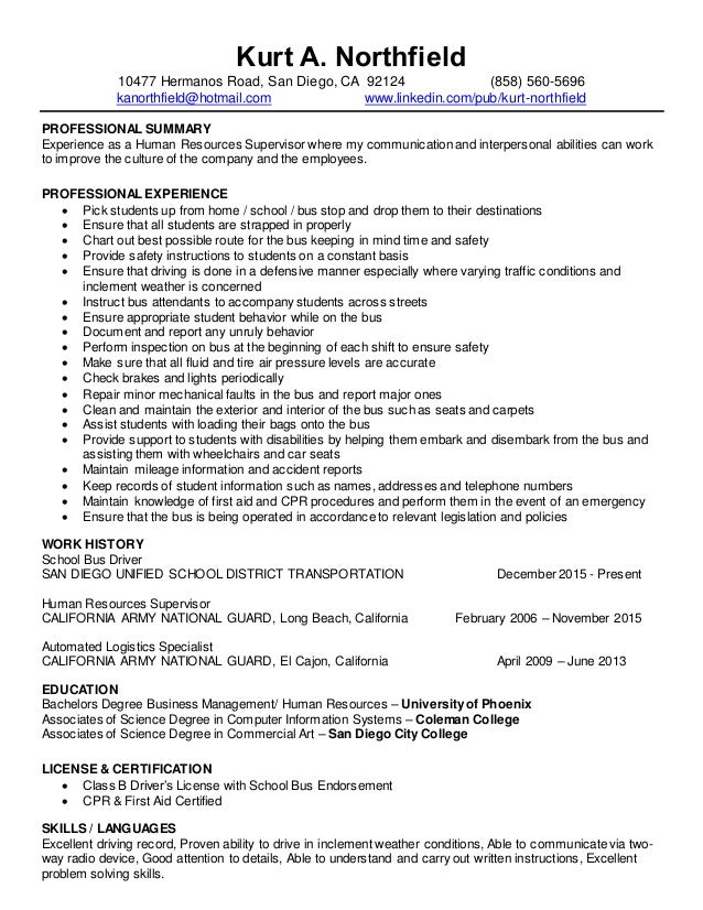 Dorable Resume Class San Diego Picture Collection - Resume Ideas ...