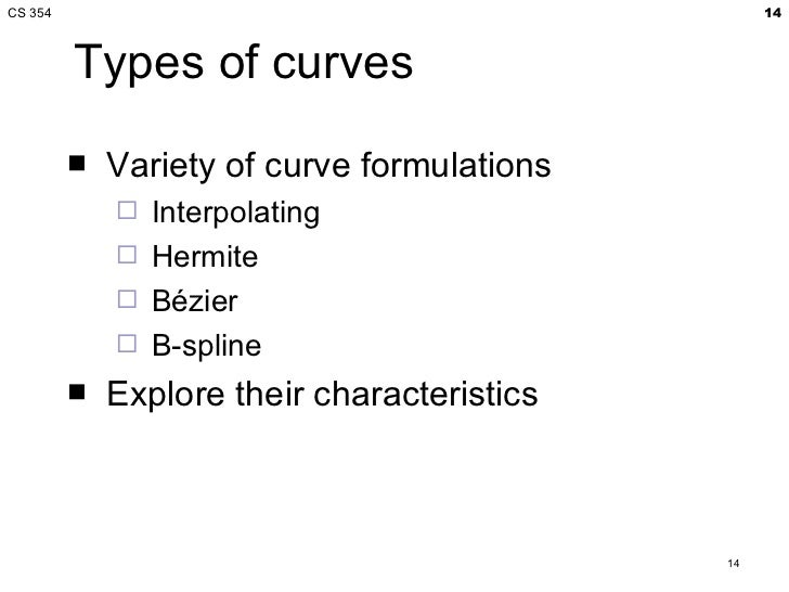 Bezier curves in computer graphics ppt