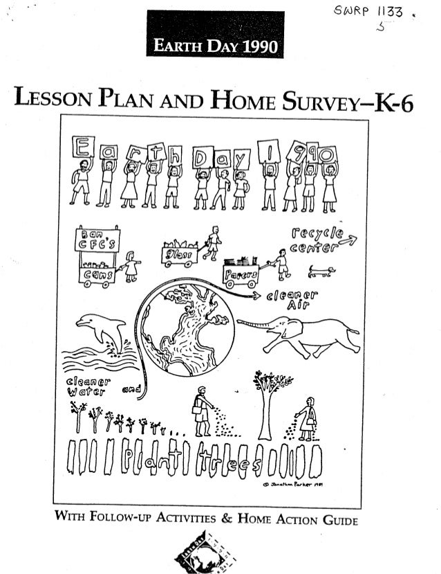 Earth Day 1990 K-6 Curriculum