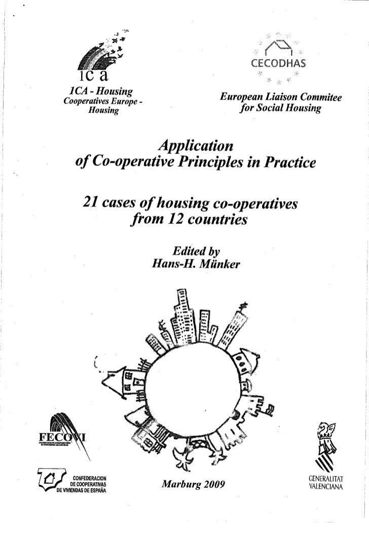 21 casos de cooperativas de viviendas