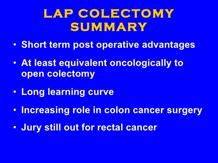 21 Century Management Of Colorectal Cancer