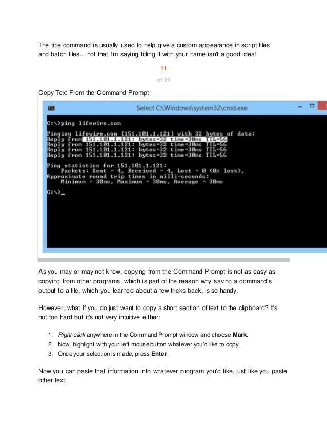 21 command prompt tricks and hacks