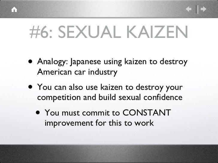 Oral sex analigies