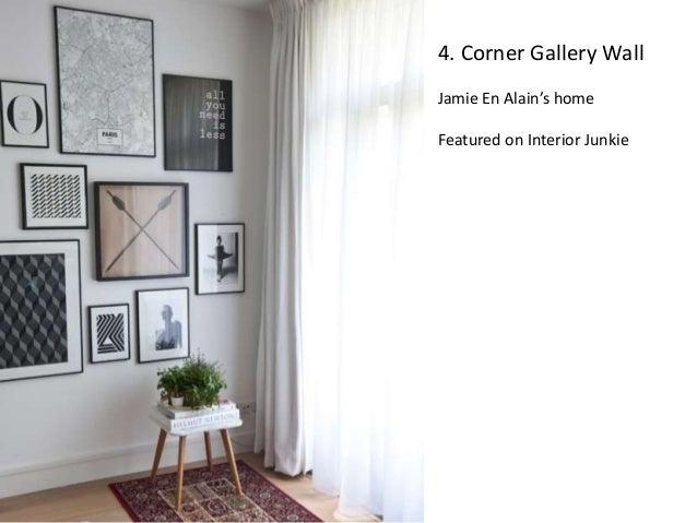 Corner Gallery Wall Jamie En Alainu0027s Home Featured On Interior Junkie; 5.  5. Kitchen ...