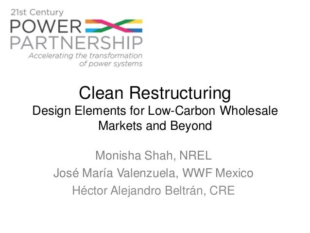 Clean Restructuring: design elements for low carbon