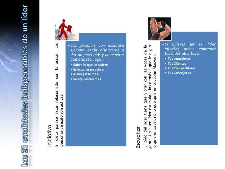 • Si quieres ser un líder             El éxito parece estar relacionado con la acción. Las                                ...