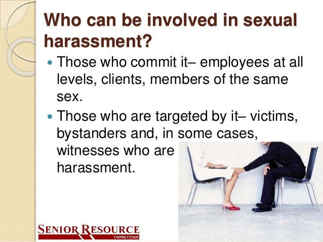 Sexual harassment training for managers