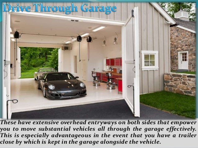 Build your own garage with behm garage plans Garage with doors on both sides