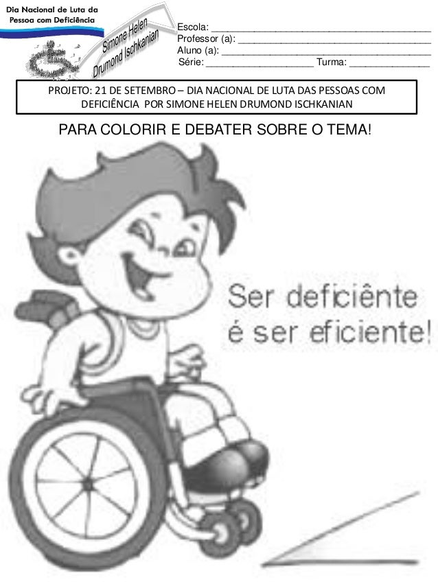 Image result for dia portadora deficiencia