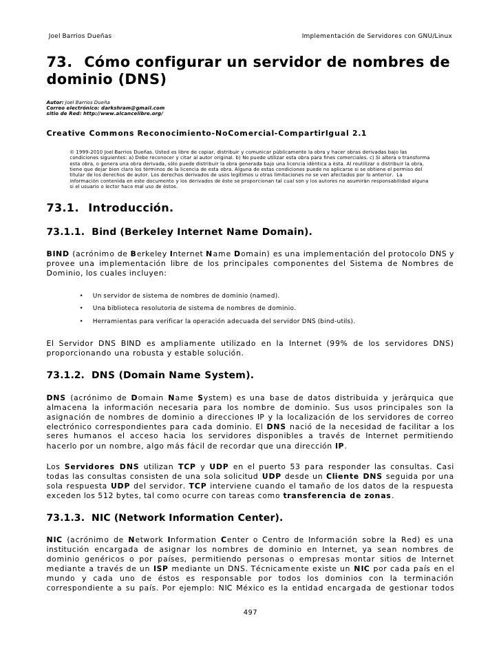 Joel Barrios Dueñas                                                                                     Implementación de ...