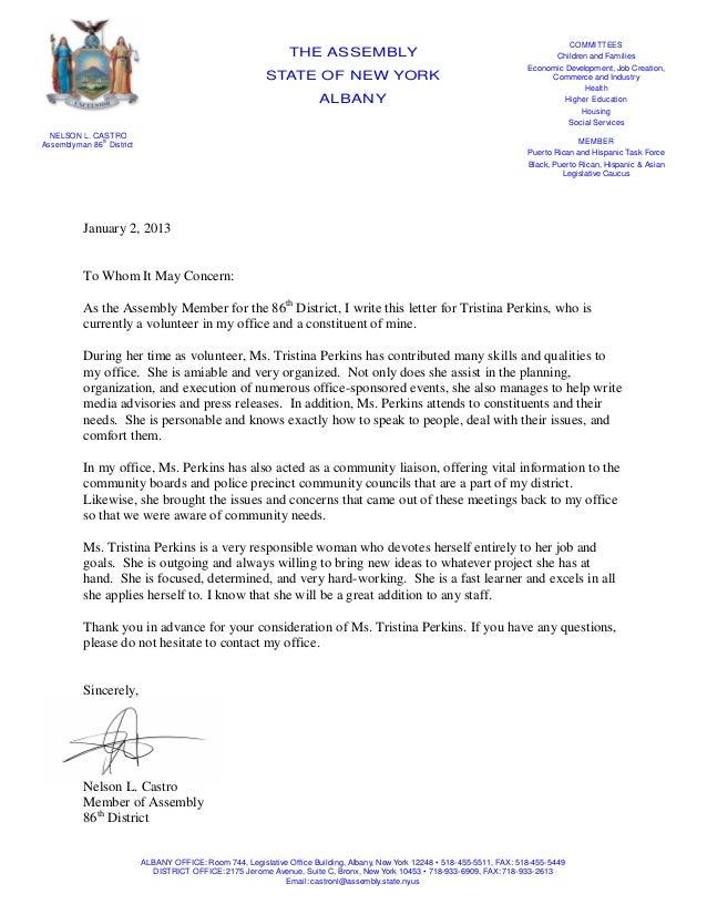 letterhead for recommendation letter