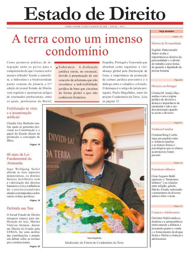 Página 03  Direitos da Personalidade  Eugênio Hainzenreder  Júnior avalia a  importância os direitos da  personalidade e o...
