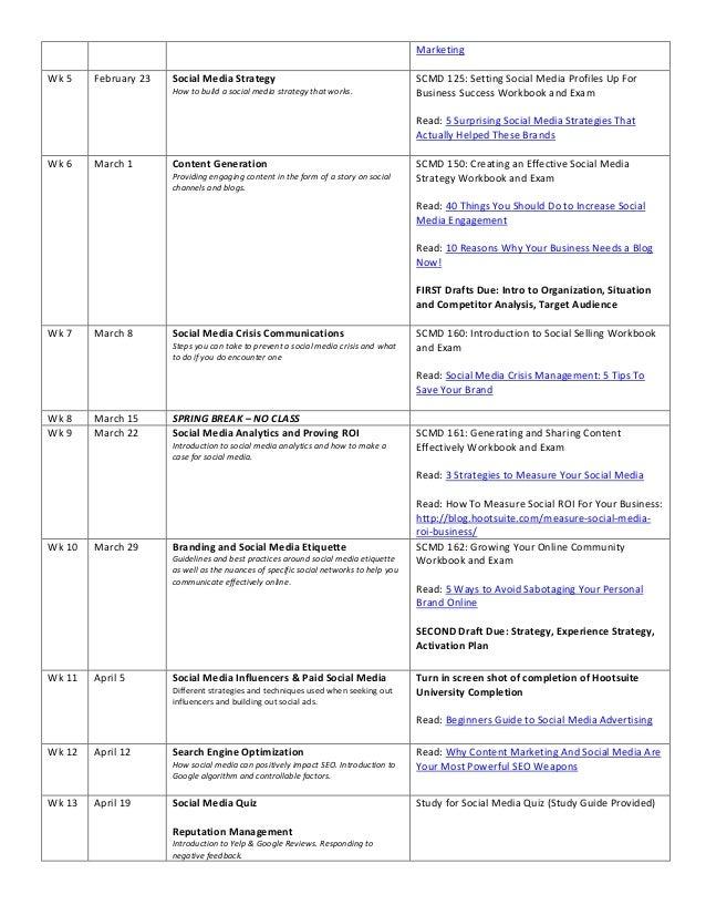 Hcs 230 syllabus