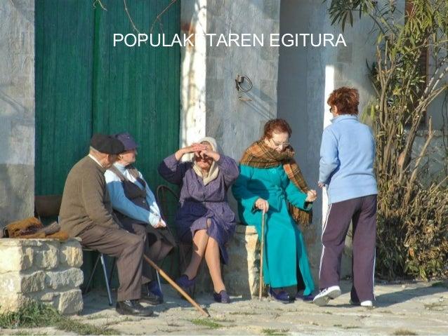 POPULAKETAREN EGITURA