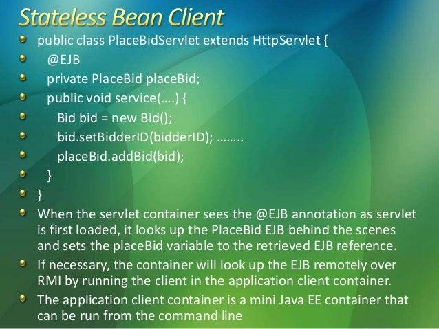 EJB3 Basics