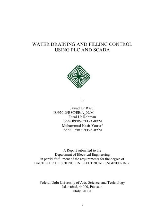 water draining and filling by fazal