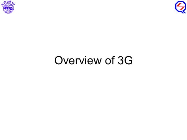 Overview of 3G