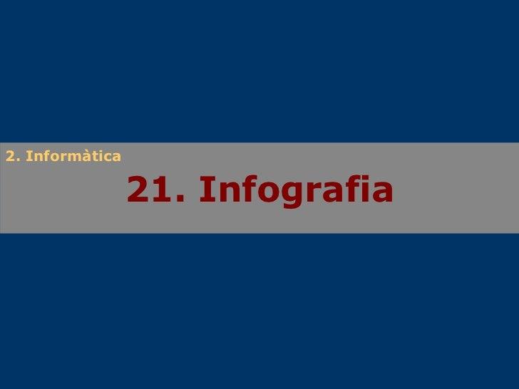 21. Infografia 2. Informàtica