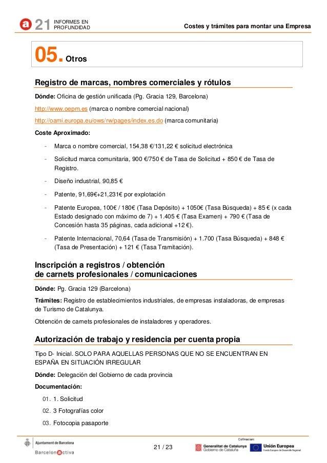 21 ip costos tramits empresa es tcm106 16993 for Oficina electronica inem