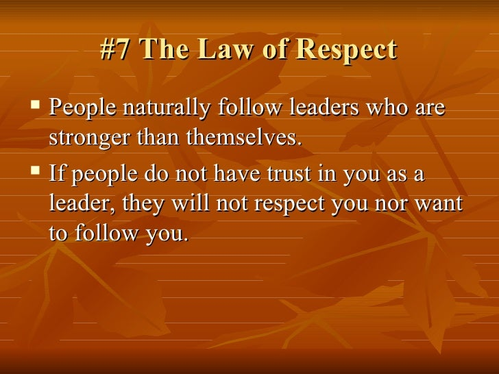 21 irrefrutable laws of leadership 21 irrefutable laws of leadership by john maxwell, 9780785289357, available at book depository with free delivery worldwide.