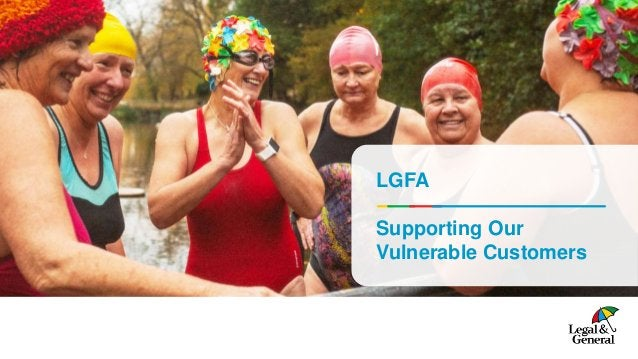 LGFA Supporting Our Vulnerable Customers