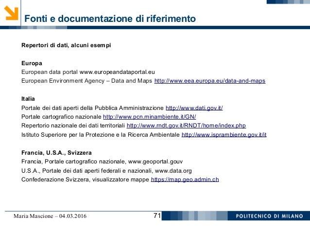 Maria Mascione: Strumenti, obiettivi e potenzialità della ...