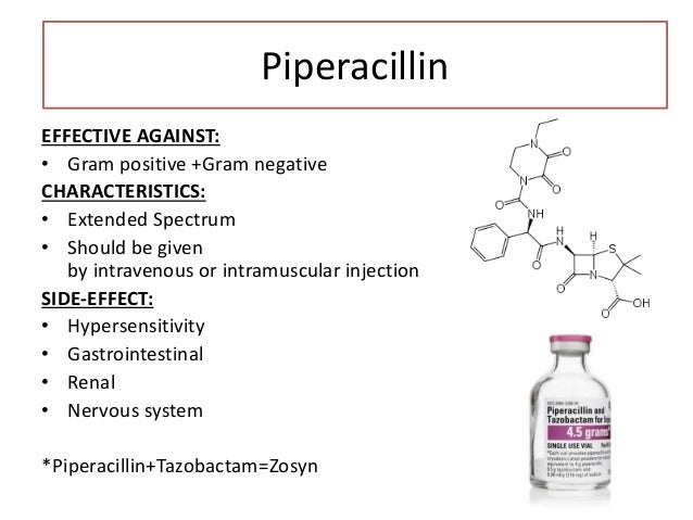 Carbenicillin EFFECTIVE AGAINST: • Gram negative + Limited Gram positive TREATMENT FOR: • Urinary tract infections CHARACT...