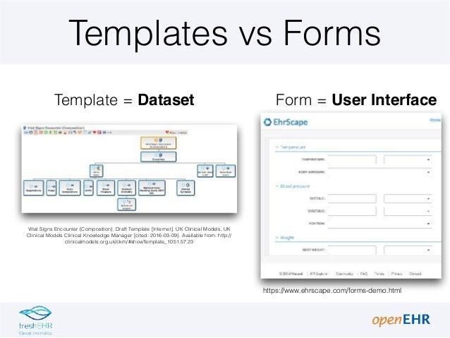 2 1 open_ehr templates in detail Slide 3