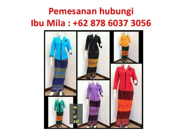 Pemesanan Hub 62 878 6037 3056 Batik Couple Modern Anak Muda Lenga
