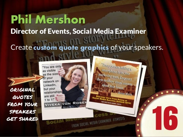 Melonie Dodaro One of the ways that I continue to drive traffic to an evergreen webinar is to create a series of LinkedIn ...
