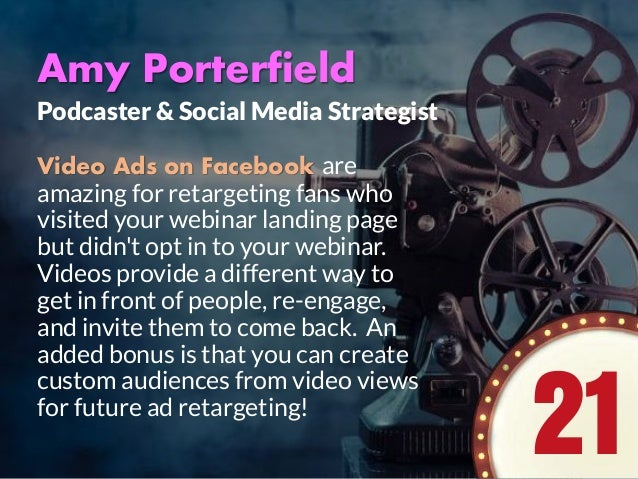 Want a BACKSTAGE PASS to see how the Pros get a Packed House at their Webinar or Event?