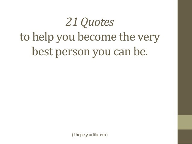 21 Quotes Fair 21 Quotes To Increase Your Personal Development