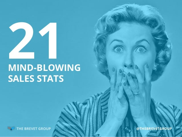 MIND-BLOWING SALES STATS @THEBREVETGROUP 21